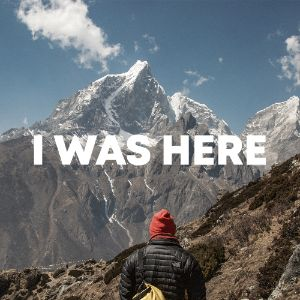 I Was Here cover